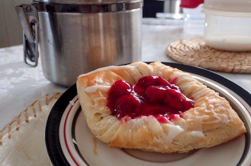 Cherry Pastry Food